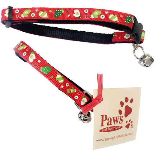 Breakaway Red Kitty Collars with Bell