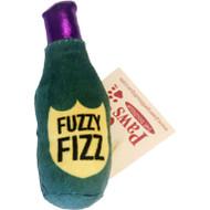 Fuzzy Champagne Bottle Organic Catnip Toy