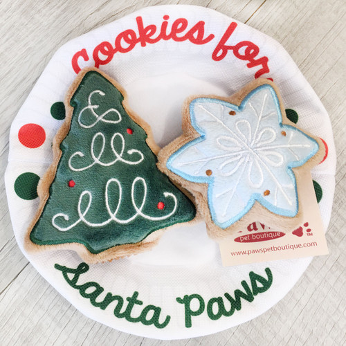 Cookies for Santa Paws Dog Toy