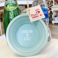 Sparkling or Still Dog Bowl