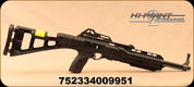 "Hi-Point Firearms - 9mm - Model 995TS - Semi Auto Carbine - Black Polymer Skeleton Stock /Blued, 16.5""Barrel, Integral Picatinny top rail mount - Restricted"