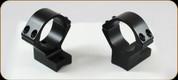 Talley - Lightweights - 30mm Extra Low Black Anschutz Weatherby MK XXII
