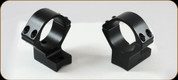 Talley - Lightweights - 30mm High Black Anschutz Weatherby MK XXII