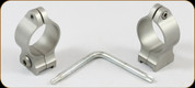 """Talley - 1"""" Low Fixed Rings (Stainless)"""