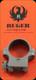 "Ruger 1"" Medium Scope Ring Assy - Stainless Matte - 4KHM - *1 Ring Only*"