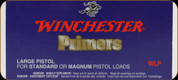 Winchester - Large Pistol Primers for Standard or Magnum Loads - WLP - 100ct