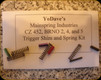 YoDave's - CZ 452 and 455, BRNO 2, 4 & 5 Trigger Shim and Spring Kit