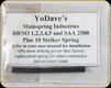 YoDave's - Bruno 1,2,3,4,5 & SAA 2500 Plus 10 Striker Spring