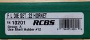 RCBS - Full Length Dies - 22 Hornet - 10201
