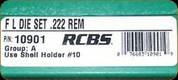 RCBS - Full Length Dies - 222 Rem - 10901