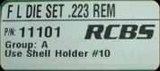 RCBS - Full Length Dies - 223 Rem - 11101
