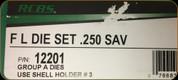 RCBS - Full Length Dies - 250 Savage - 12201
