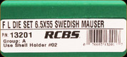 RCBS - Full Length Die Set - 6.5x55 Swedish Mauser - 13201