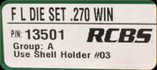 RCBS - Full Length Dies - 270 Win - 13501