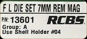 RCBS - Full Length Dies - 7mm Rem Mag - 13601