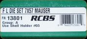 RCBS - Full Length Dies - 7x57 Mauser - 13801