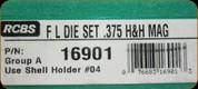 RCBS - Full Length Dies - 375 H&H Mag - 16901
