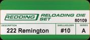 Redding - Full Length Sets - 222 Rem - 80109