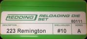 Redding - Full Length Sets - 223 Remington - 80111