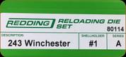 Redding - Full Length Sets - 243 Win - 80114