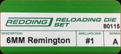 Redding - Full Length Sets - 6mm Remington - 80115