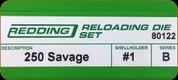 Redding - Full Length Sets - 250 Savage - 80122