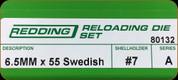 Redding - Full Length Sets - 6.5x55 Swedish - 80132