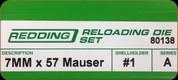 Redding - Full Length Sets - 7x57 Mauser - 80138