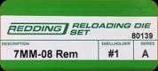 Redding - Full Length Sets - 7mm-08 Rem - 80139