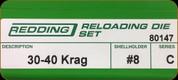 Redding - Full Length Sets - 30-40 Krag - 80147