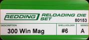Redding - Full Length Sets - 300 Win Mag - 80153