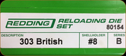 Redding - Full Length Sets - 303 British - 80154