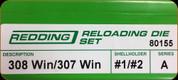 Redding - Full Length Sets - 308 Win/307 Win - 80155