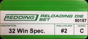 Redding - Full Length Sets - 32 Win Spec - 80157