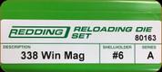 Redding - Full Length Sets - 338 Win Mag - 80163
