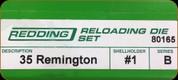 Redding - Full Length Sets - 35 Remington - 80165