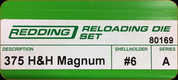 Redding - Full Length Sets - 375 H&H Magnum - 80169