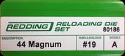 Redding - Full Length Sets - 44 Magnum - 80186