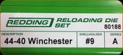 Redding - Full Length Sets - 44-40 Winchester - 80188