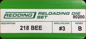 Redding - Full Length Sets - 218 Bee - 80200