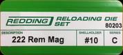 Redding - Full Length Sets - 222 Rem Mag - 80203