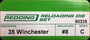 Redding - Full Length Sets - 35 Winchester - 80335