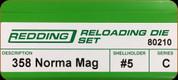 Redding - Full Length Sets - 358 Norma Mag - 80210