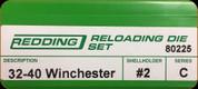Redding - Full Length Sets - 32-40 Winchester - 80225