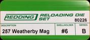 Redding - Full Length Sets - 257 Wby Mag - 80226