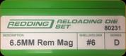 Redding - Full Length Sets - 6.5mm Rem Mag - 80231