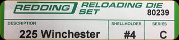 Redding - Full Length Sets - 225 Winchester - 80239