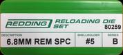 Redding - Full Length Sets - 6.8mm Rem SPC - 80259