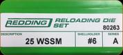 Redding - Full Length Sets - 25 WSSM - 80263