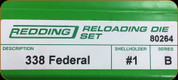 Redding - Full Length Sets - 338 Federal - 80264